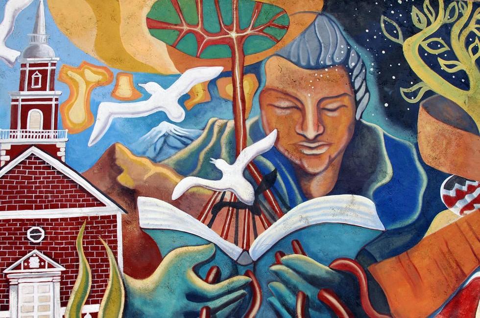 Mural_GabrielaMistral_MonteGrande