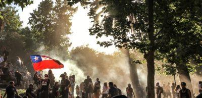 Il Cile protesta