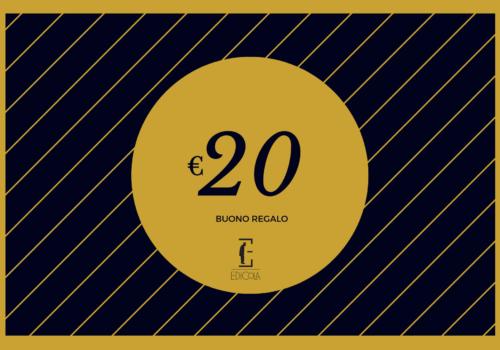 Buono regalo 20€ – Gift Card Edicola