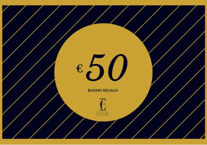 Buono regalo 50€ – Gift Card Edicola